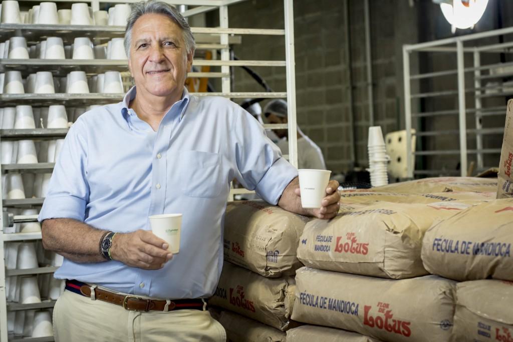 Cláudio Rocha Bastos, presidente da CB PAK